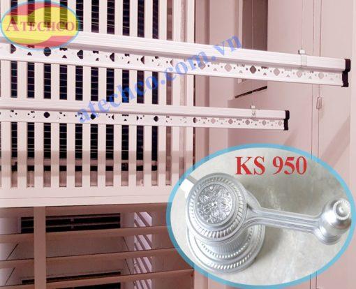 giàn phơi hòa phát ks950