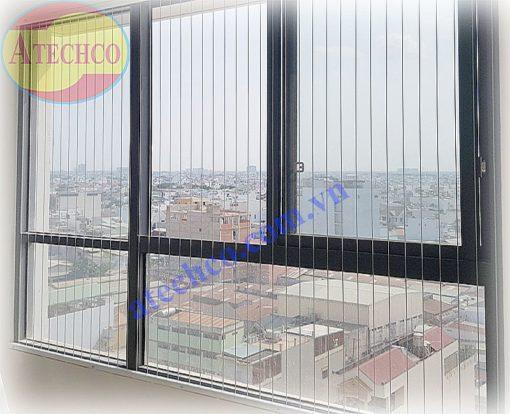 dây cáp bảo vệ an toàn cửa sổ