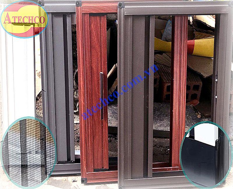 khung cửa lưới chống muỗi